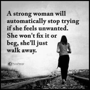 Walk away you You Walk
